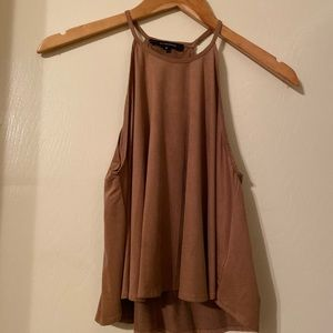 Olivaceous Brown short blouse
